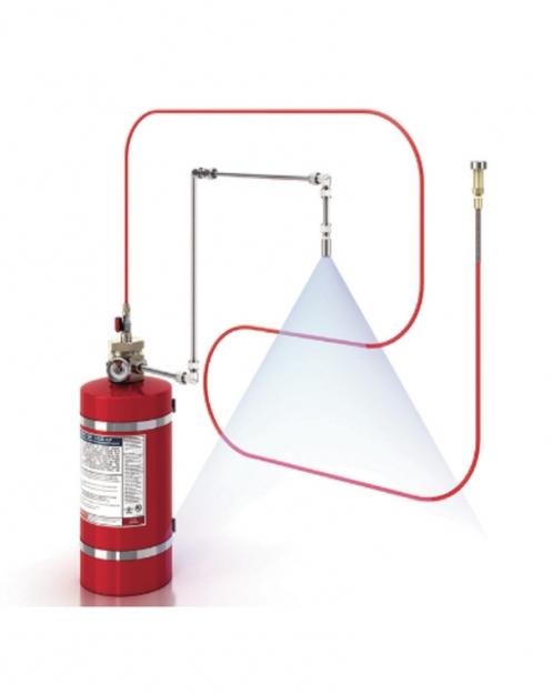 高低壓配電柜探火管式全氟己酮滅火系統